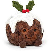 Jellycat Amuseables Christmas Pudding